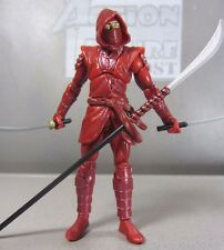 "HAND NINJA Man Marvel Universe #024 Complete 3.75"" Action Figure Toy Red Outfit"