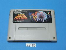 USED Super Metroid SNES Nintendo Super Famicom SFC Video Games From Japan 28185