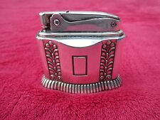 RONSON DIANA SILVER PLATED TABLE LIGHTER MARKETED BETWEEN 1949 AND 1955