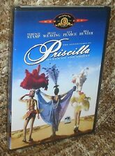 PRISCILLA QUEEN OF THE DESERT DVD, NEW AND SEALED,VERY  RARE, TERENCE STAMP