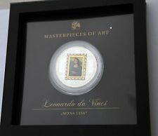 Cook Islands 2009 - Masterpieces of Art series - MONA LISA special edition