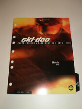 SKIDOO  PARTS CATALOG  MANUAL 2003 SKANDIC 500 F