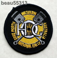 2002 HARLEY OWNERS GROUP HOG NATIONAL PERTH WESTERN AUSTRALIA RALLY PATCH