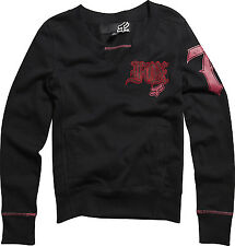 Fox Racing Fox Girl Pop Quiz Pullover Black, Small