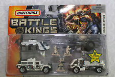 2006 Matchbox Battle Kings Polar Rescue (7 piece set) Hummer, Radar Truck more