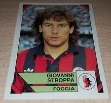 FIGURINA CALCIATORI PANINI 1993/94 FOGGIA STROPPA ALBUM 1994