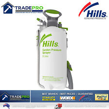 Hills 8Ltr Sprayer Professional New Model Two Nozzles 8L Chemical Garden & Pets