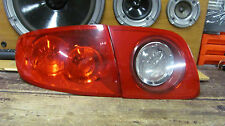 2004-2006 MAZDA 3 LEFT TAIL LIGHT ASSEMBLY inner & outer oem 2 pc LH DRIVER 06