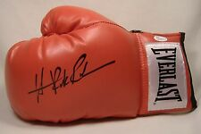 HASIM RAHMAN THE ROCK SIGNED BOXING GLOVE AUTOGRAPH EVERLAST LACE-UP JSA COA