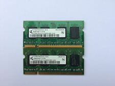 1GB PAIR (2x512MB) PC2-5300 RANDOMLY SELECTED DOUBLE-SIDED 2Rx16 BRANDED SODIMMs