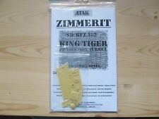 ATAK model Zimmerit for King Tiger (resin) in 1:35 scale.