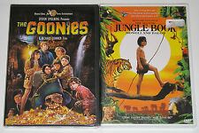 Kid Family DVD Lot - The Goonies (New) The Second Jungle Book (New)