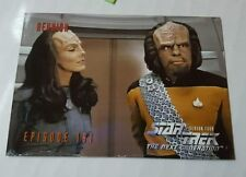 Star Trek Episode 181 Reunion Season Four SkyBox Trading Card Back puzzle HS