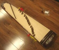 17-string Concert Vietnamese Dan Tranh Zither with Inlay