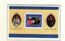 (74167) Samoa Queen Golden Wedding 1997 Minisheet - MNH U/M Mint