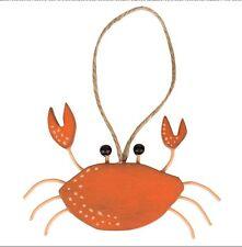 Granchio da appendere. Decorazione NAUTICHE. MARE. Crabbing. costiera.