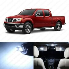5 x Xenon White LED Interior Light Package For 2005 - 2013 Nissan Frontier