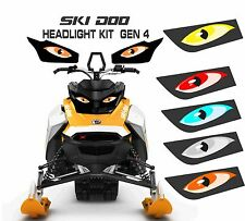 SKI DOO REV GEN 4 X SUMMIT RENEGADE  MXZ TNT 850 E HEADLIGHT  DECAL STICKER 4
