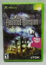 Disney's The Haunted Mansion Video Game Xbox Complete w/ Manual VGUC Works Great