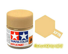 TAMIYA COLOR  XF-78 Wooden Deck Tan Model ACRYLIC PAINT 10ml Free Shipping