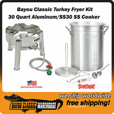 Outdoor Gourmet 30 Quart Complete Turkey Fryer Kit Portable and Great Quality