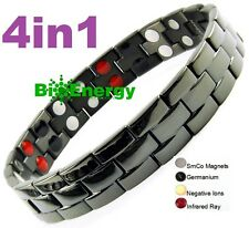 Magnetic Magnet Armband Power Bracelet Health Bio 4in1 Balance Germanium Bio