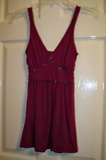 Express Jr XS Wine Casual Nylon Camisole.
