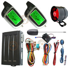 remote engine ignition start auto car alarm system with window rolling up output