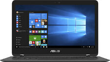 """Open-Box: Asus - Q324UA 2-in-1 13.3"""" Touch-Screen Laptop - Intel Core i7 - 16..."""