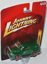 """Forever 64 R20 - 1950 CHEVY PANEL DELIVERY """" R.E.A. """" 1:64 Johnny Lightning"""