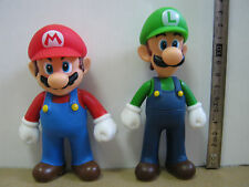 2 PCES NINTENDO SUPER MARIO BROTHER Mario & Luigi ACTION FIGURE