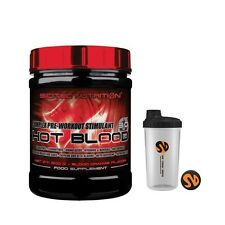 HOT BLOOD 3.0 limon 300gr SCITEC NUTRITION oxido nitrico