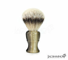 "Shaving Brush Traditional Classic Style  Medium ""Silver tip Badger"" Hair"