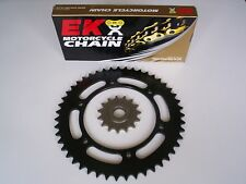 SUZUKI DRZ400S DRZ 400 S NEW 15/44 SPROCKET & EK SRO O-RING CHAIN SET 00 - 12