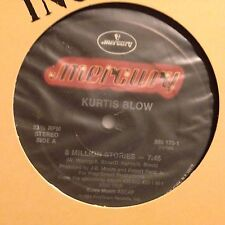 KURTIS BLOW - 8 Million Stories - Vinile 12 Mix - 1984 Usa -