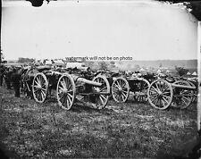 "20 Pound Parrott Rifled Guns Cannons 1st NY 8""x 10"" Civil War Photo Picture #6"