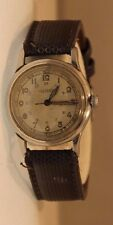 Vintage Universal Geneve 361 UOW 17 Jewel WW2 Era Trench Watch