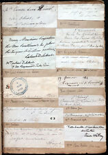 ANTIQUE MATHILDE BONAPARTE French COURT LOUIS NAPOLEON III Signed AUTOGRAPH LOT