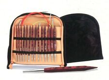 Knitpro Cubics Rose Interchangeable Deluxe Set Rosewood Knitting Needles