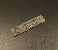 Commodore Amiga 600 HD Label / Logo / Sticker / Badge 49 x 13 mm [261b]