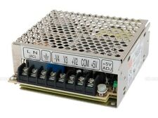 Mean Well RQ-50C AC/DC Power Supply Quad-OUT 5V/15V/-5V/-15V 6A/1.5A/1A/1A 50W
