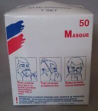50 Staubmasken / Schutzmaske Atemmaske EINWEGMASKE Schleifmaske