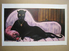 """Disney Haunted Mansion Cat Woman Painting 11"""" X 17"""" Poster [ Part Two ]"""