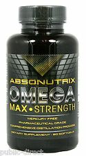 1500mg Omega 3 Fish Oil 800mg EPA 600mg DHA Heart Health Softgel Pill Absonutrix