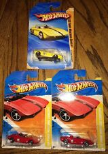 2010 2011 Hot Wheels 62 Ford Mustang Concept World Premiere Yellow Red Lot