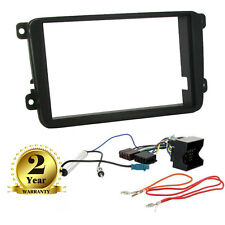 Volkswagen VW Caddy, Touran Golf MK5 Double Din Car CD Stereo Fitting Kit Fascia