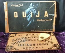 William Fuld Talking Board Set Ouija Board and Planchette w/box SALEM VINTAGE