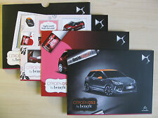 Citroen DS3 'Benefit' Special Edition UK Sales Brochure (2014)