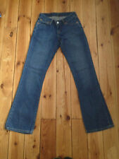 LEVIS 545 17 RED TAB LADIES BLUE DENIM JEANS W26 L32