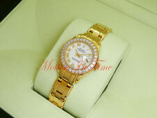 Rolex Masterpiece Pearlmaster Yellow Gold 29mm White Dial Diamond Bezel 80298